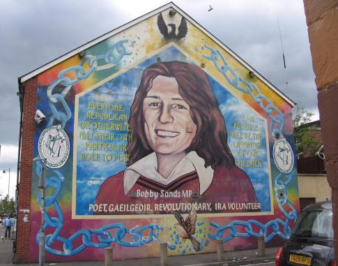 Bobby Sands Belfast Mural