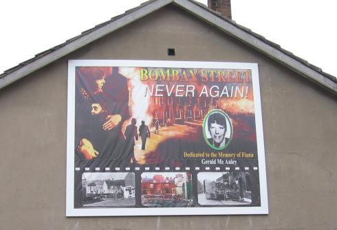 Bombay Street Belfast Mural