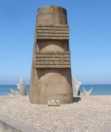 Omaha Beach second monument