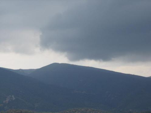 Storm over Aegina