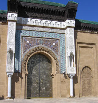 Palace Gates, Casablanca