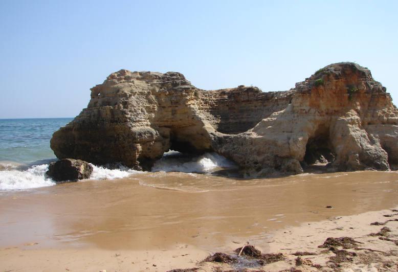 Praia da Oura Beach Algarve