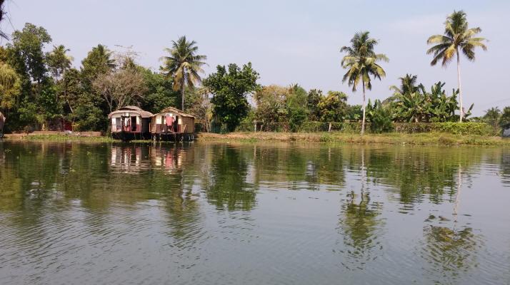 Aleppy Houseboat, Kerala
