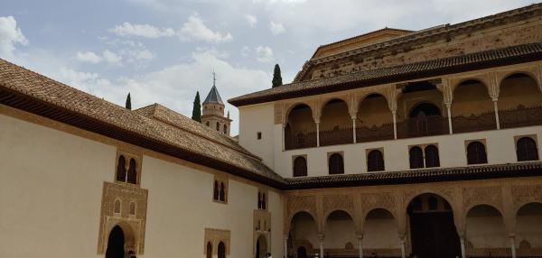 Inside Granada Alhambra