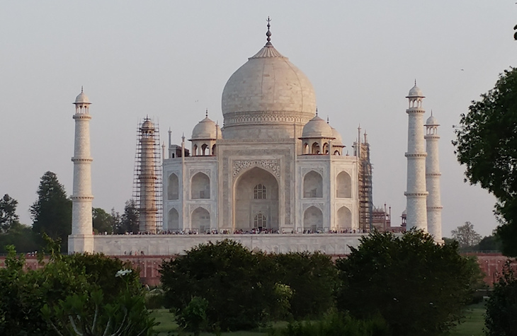 Back of Taj Mahal