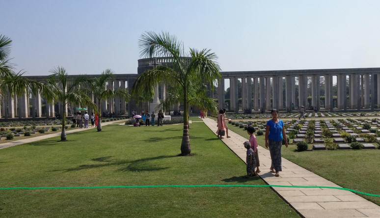 Burma War Graves