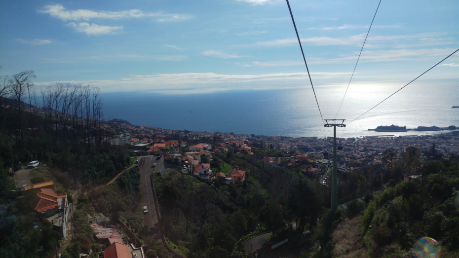 Cable Car View Funchal
