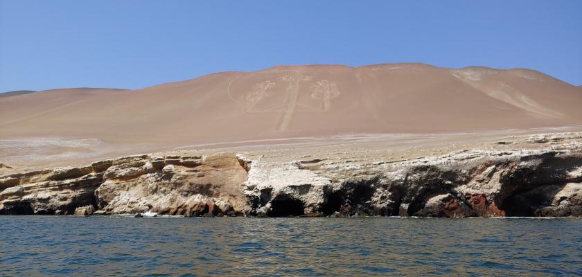 Candelabra Geoglyph, Peru