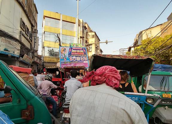 Chadni Chowk rickshaw