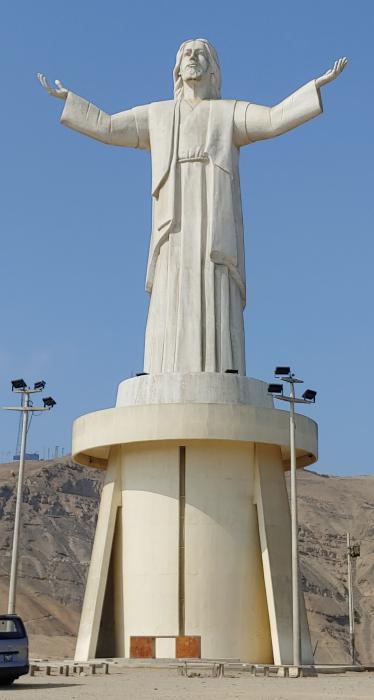 Christ Statue Lima