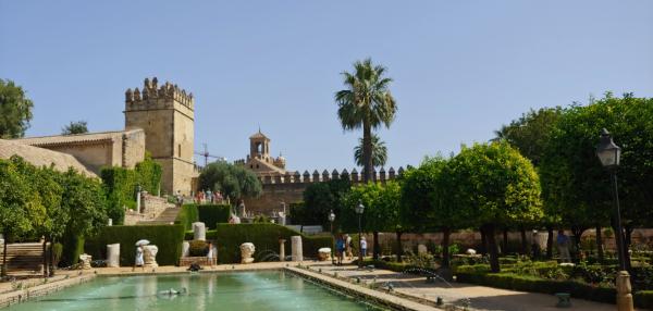 Cordoba Alhambra Gardens
