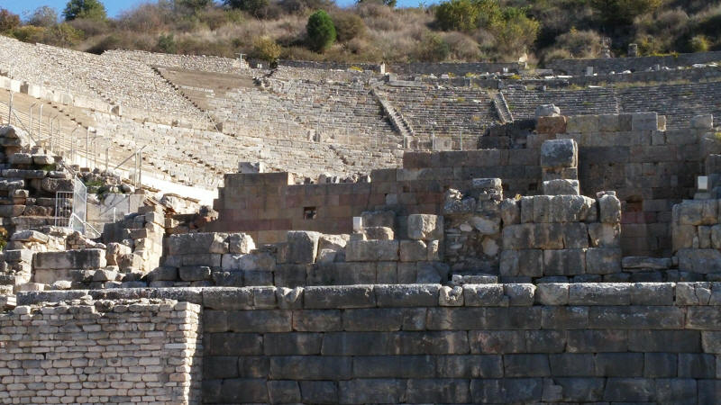 Ephesus Amphitheatre, Izmir, Turkey