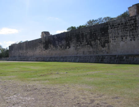 Mayan Ballpark Chichen Itza