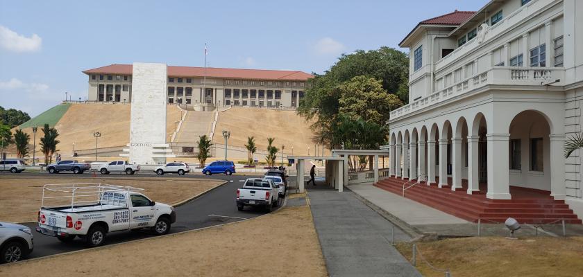 Panama Canal Admin Building