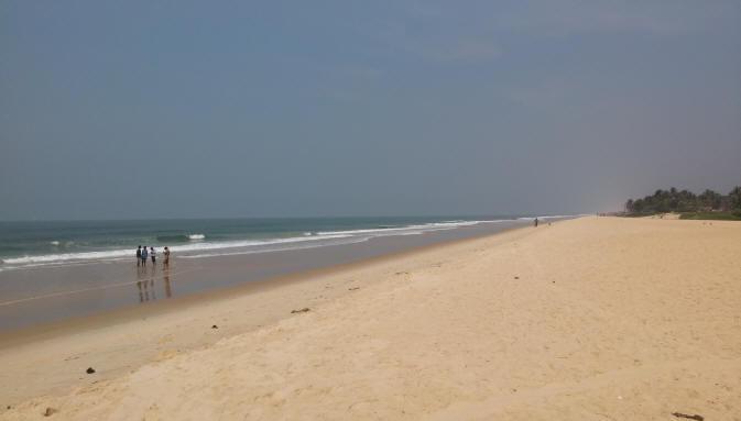 Panambur Beach near Mangalore