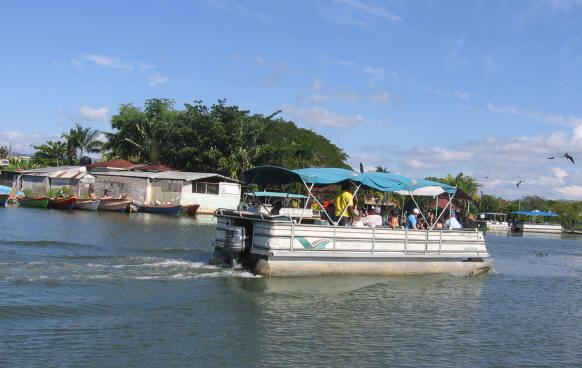 River boat in Jamaica