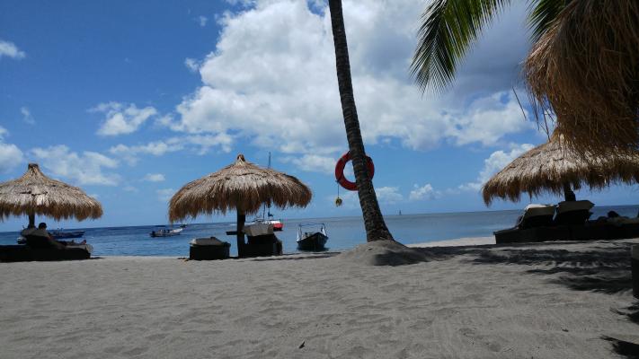 Piton Beach, St Lucia