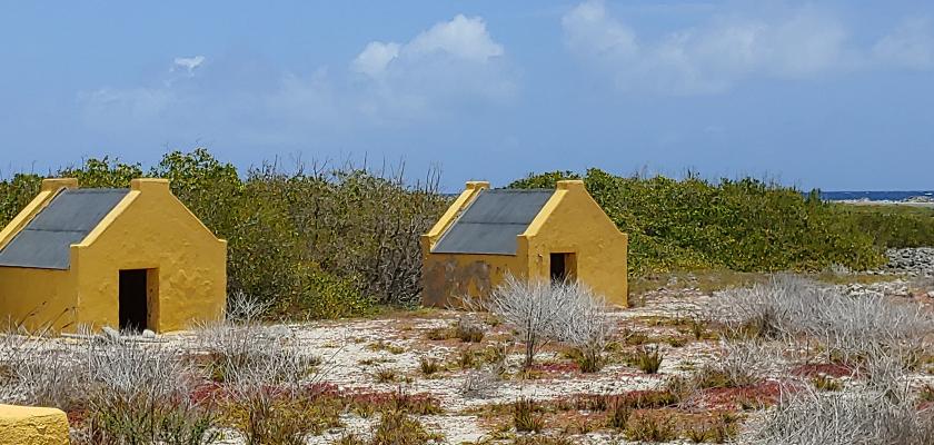 Former Slave Huts in Bonaire