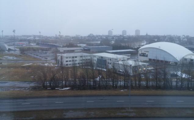 Reykjavik storm