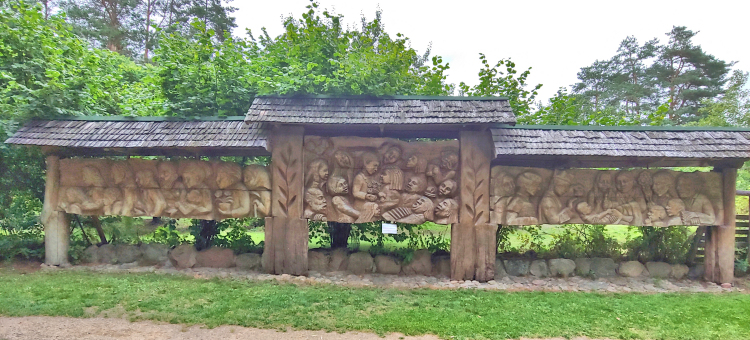 Wood Carvings Lithuania