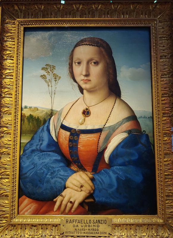 Portrait of Maddalena Doni by Raphael