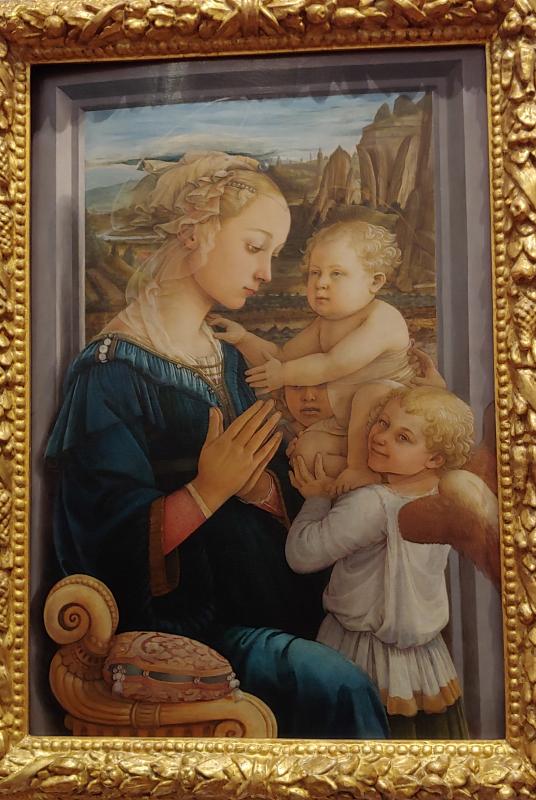 Madonna and Child Filippo Lippi