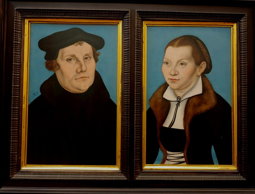 Martin Luther and his Wife