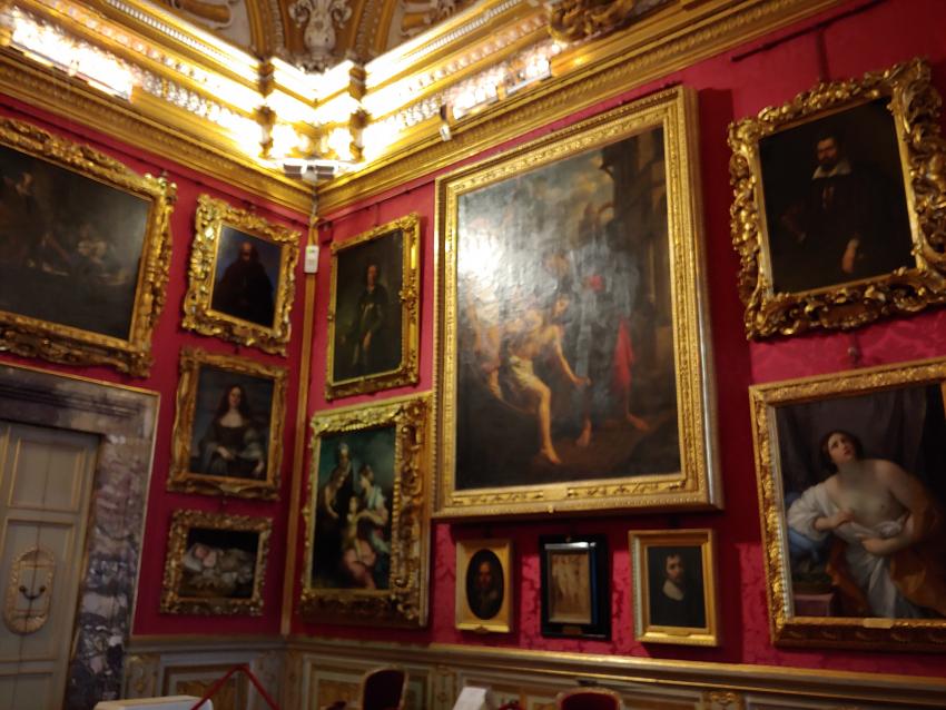 Pitti Palace Florence Art works