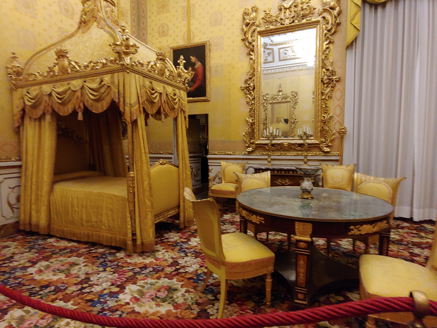 A room in the Pitti Palace