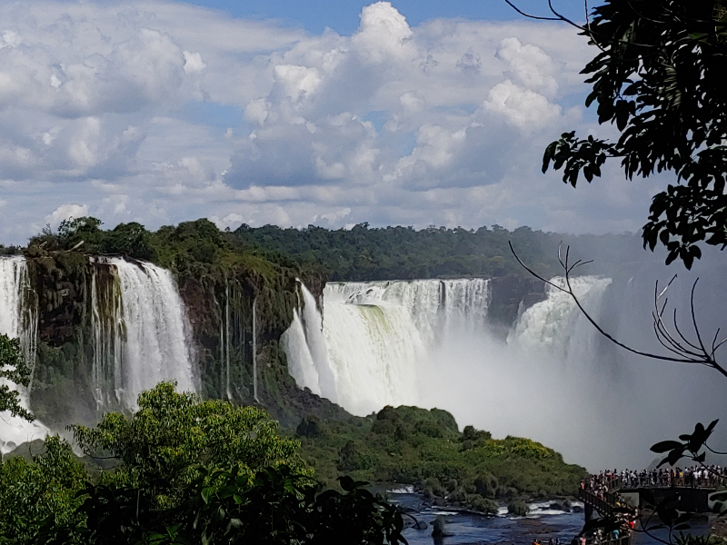Iguacu from Ground