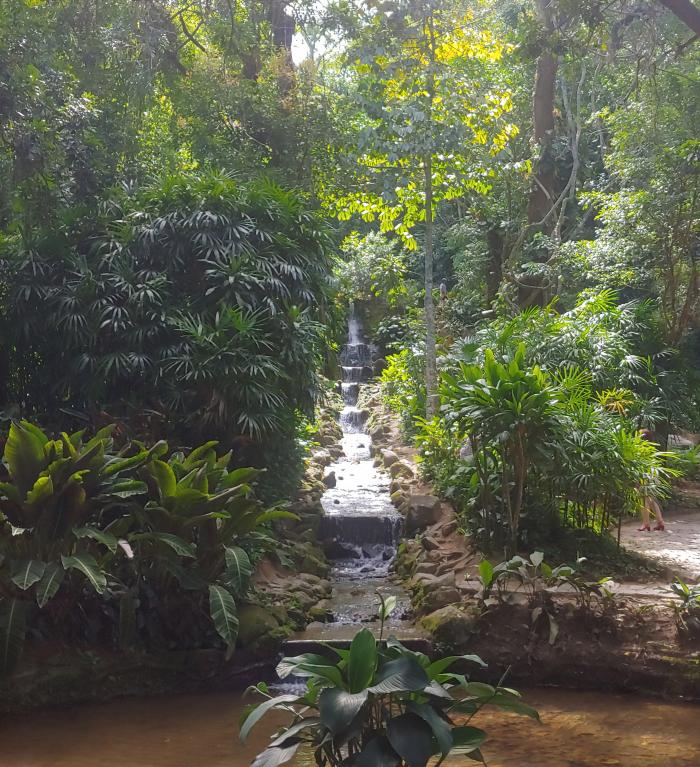 Jardim Botanica Waterfall