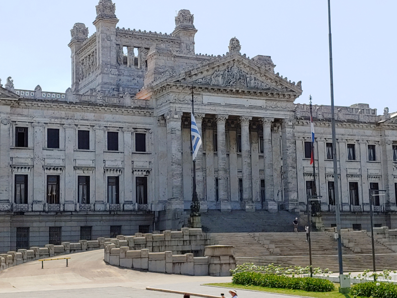 Montevideo Parliament Building