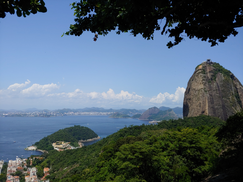 View of Top Sugar Loaf